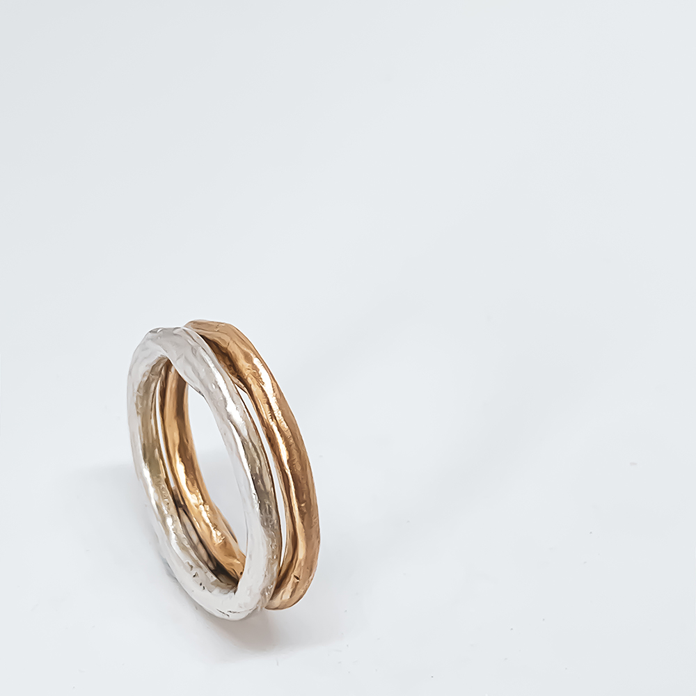 Organic Tales – The Sun and The Moon Stacking Rings