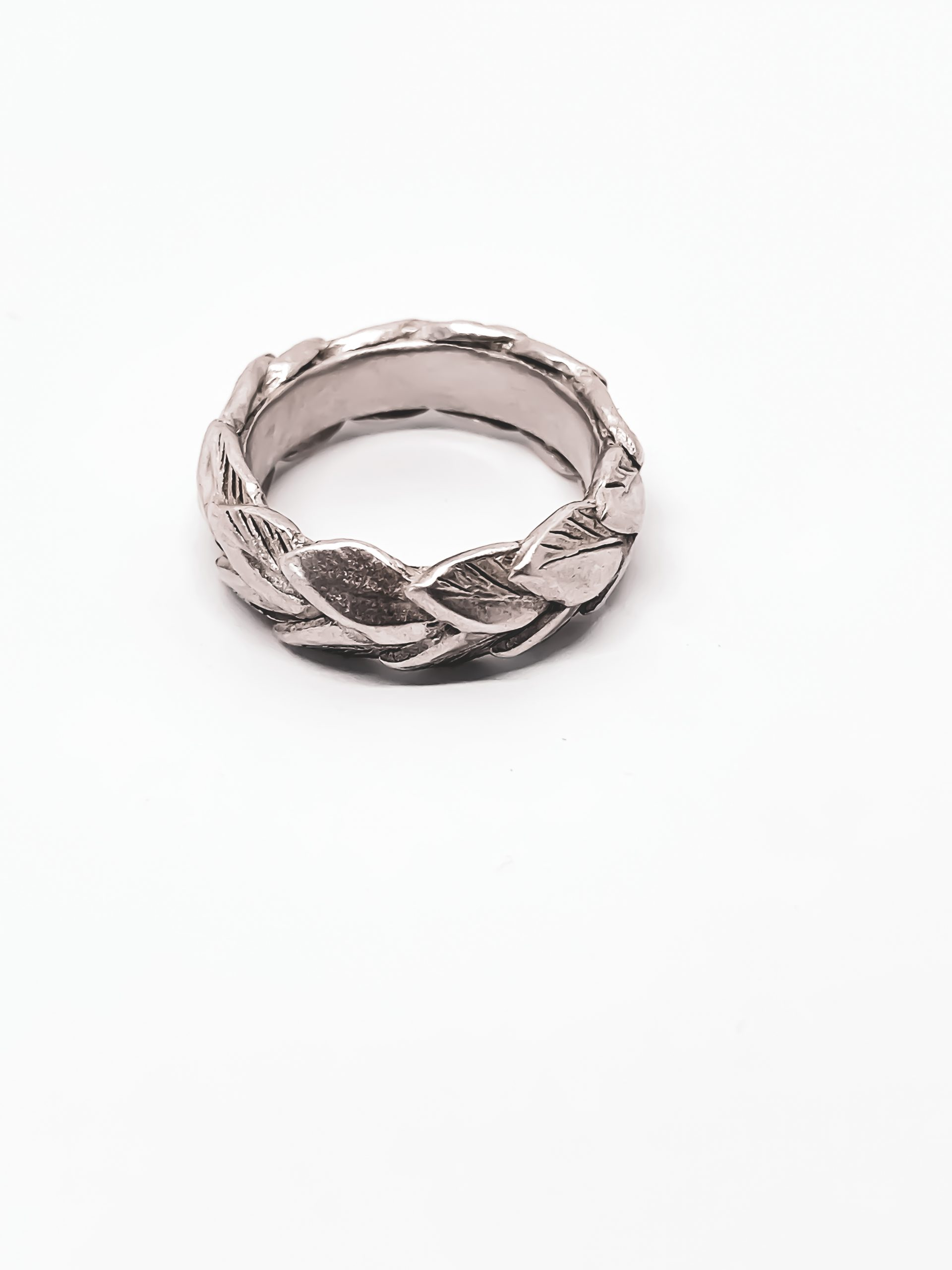 REVEALED – Double Leaf Band in Sterling Silver