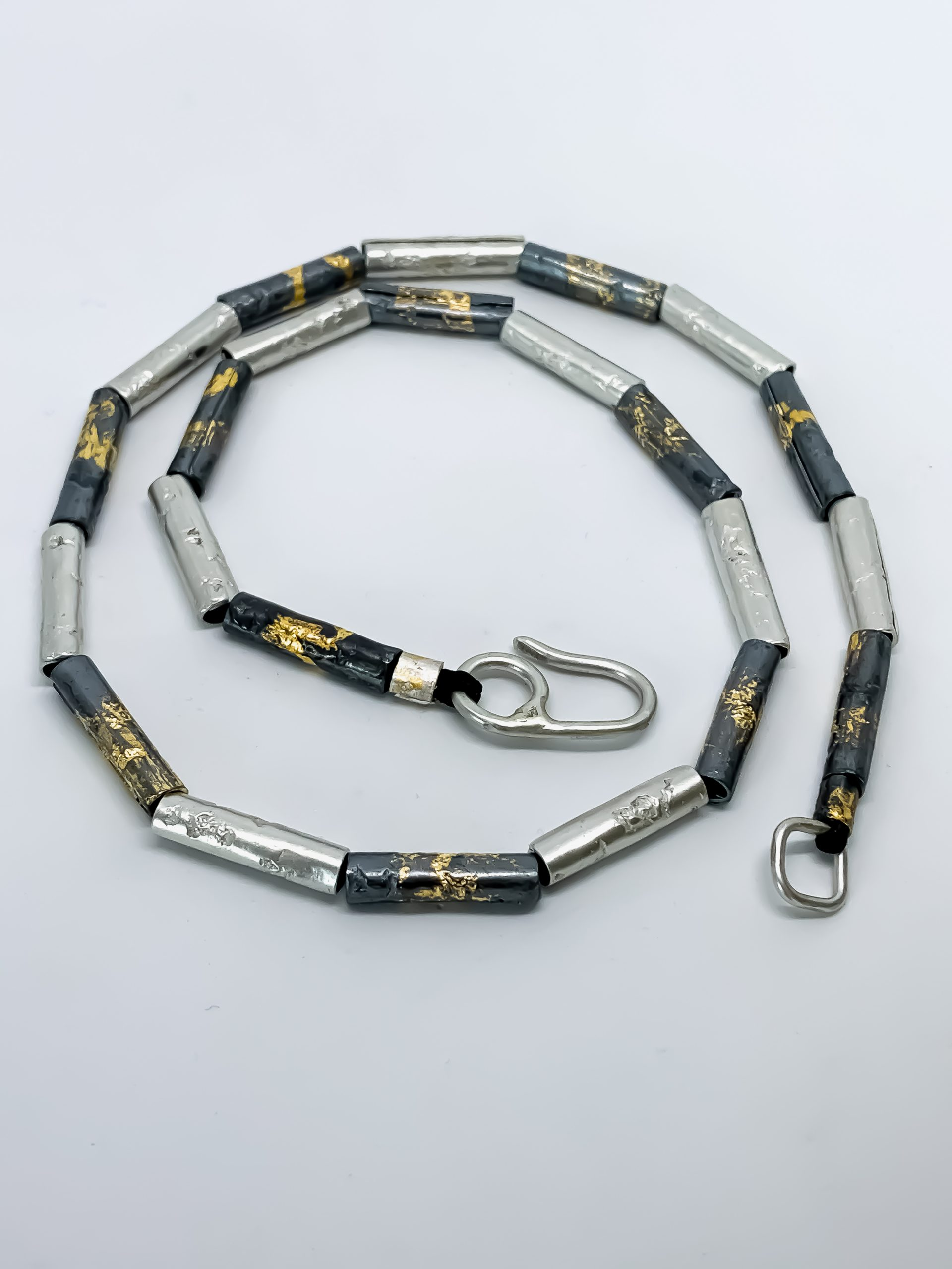 Wrapped Beaded Necklace