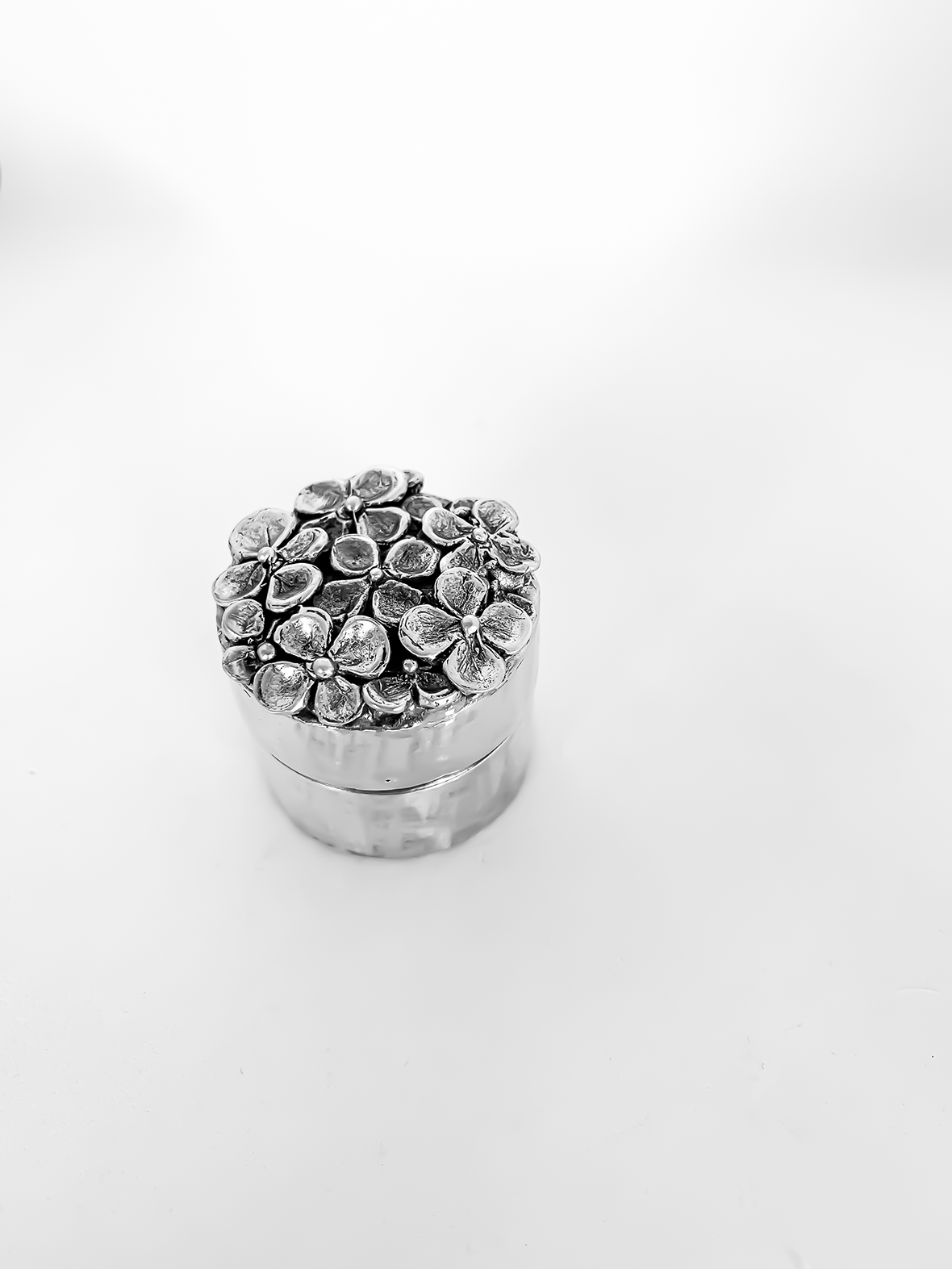 Hydrangea Box – Sterling Silver – Limited edition of 3